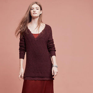 {Anthropologie} Laced Betten Sweater Size XS